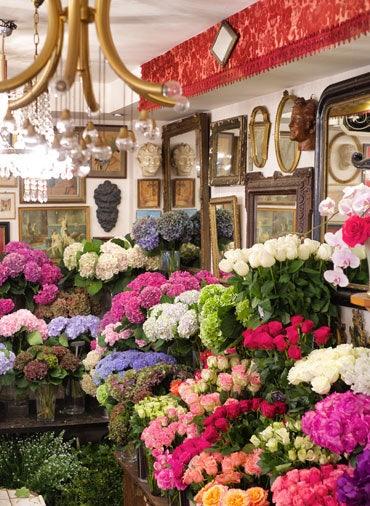 محل زهور في مبارك الكبير